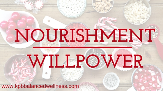 Nourishment Over Willpower