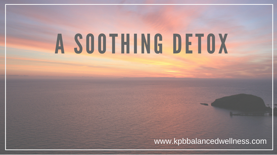 A Soothing Detox