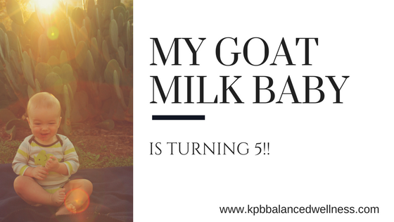 My Goat Milk Baby