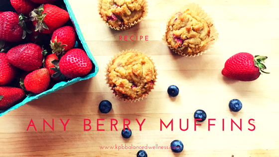 Any Berry Muffins