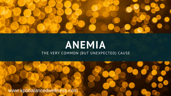 Anemia: The Unexpected Common Cause