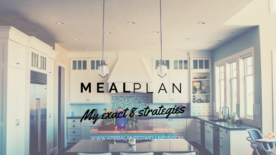 8 Tips to Make Meal Planning Actually Happen